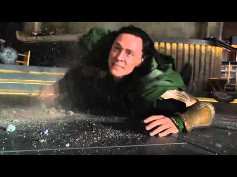 Hulk beats Loki &quot;Puny God&quot; Funniest Moment From The Avengers (2012)