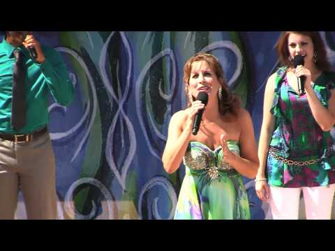 "Voice of Ariel, Jodi Benson, sings ""Part of Your World"" at The Little Mermaid ride grand opening"