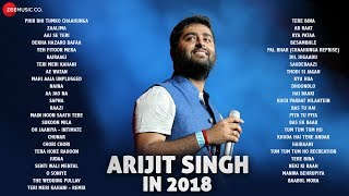 Arijit Singh in 2018 - Audio Jukebox  47 songs