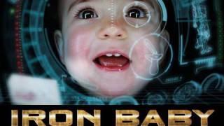 The Iron Baby... Iron man versi cilik !!! CIYUS unyuk banget !!! >.
