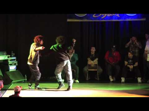 KICK&MALVINA vs. LES TWINS Hip-Hop Final