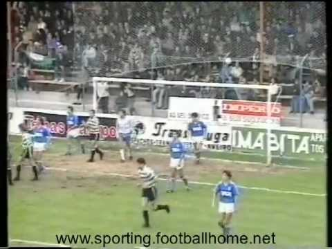 11J :: Feirense - 1 x Sporting - 2 de 1989/1990