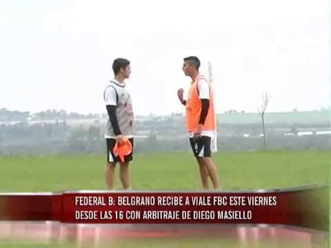 Federal B: Belgrano recibe a Viale FBC este viernes a las 16 horas