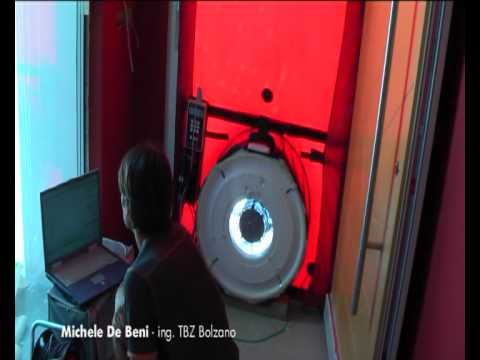 Blower Door Test - casa passiva