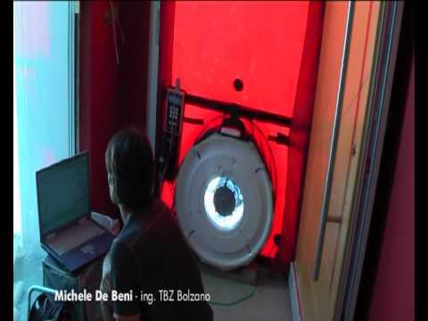 Blower Door Test - casa passiva