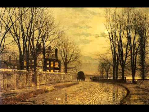 My lonely road (sad harmonica and guitar music) - Paintings by John Atkinson Grimshaw