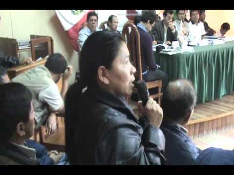I Reunión Comité de Coordinación RBOAY. Dina Jumanga alcaldesa MD Puerto Bermúdez