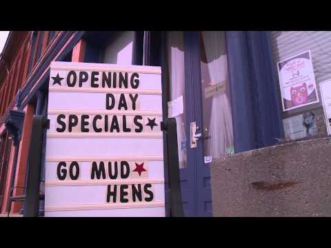 Mud Hens Season Boosts Downtown Business