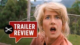 Instant Trailer Review - Jurassic Park 3D (2013) Steven Spielberg Movie HD