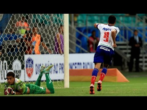 Veja os gols de Bahia 2 x 1 Flamengo de Guanambi
