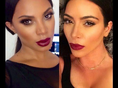 Kim Kardashian inspired Makeup- Collab with MakeupbyGio - msroshposh