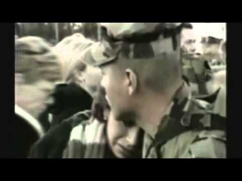 Il toccante discorso di un veterano di guerra