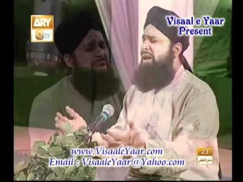 URDU DUA(ilahi Maddad Kar)OWAIS RAZA QADRI IN QTV.BY  Naat E Habib
