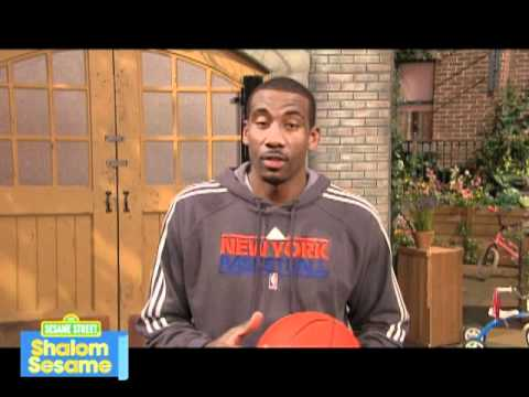 New York Knicks Superstar Amar-e Stoudemire Defines the Word Tov for Shalom Sesame