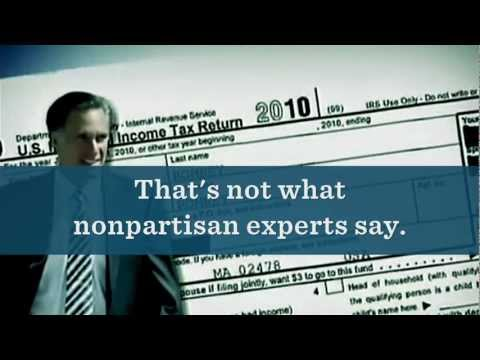 Mitt Romney's Misleading Tax Plan