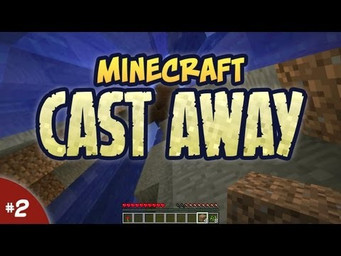 Minecraft Cast Away #02 - Land Ho!