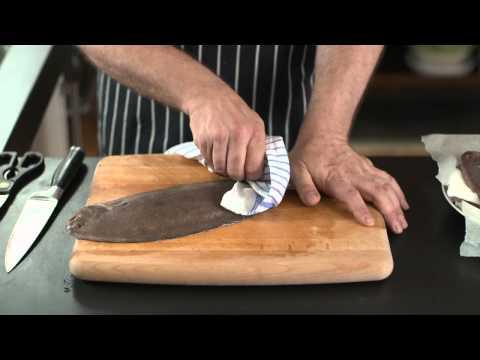 How To - prepare Dover sole