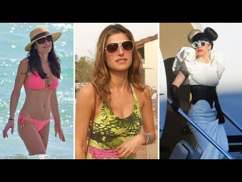 Celebrities' Travel Style and Fashion Tips - Madonna, Lady Gaga, Jessica Biel