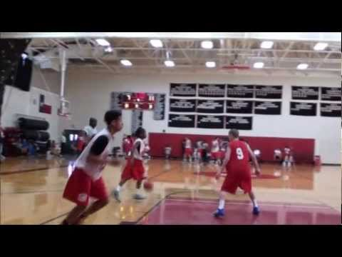 7th grade Jashaun Agosto at the John Lucas Elite 8th grade International Camp 2011 Part 1 of 2