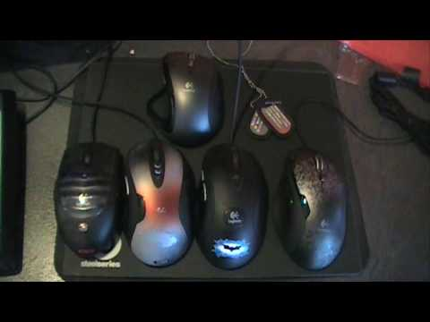 Logitech G500 Gaming Mouse with 5700 DPI. Unboxing