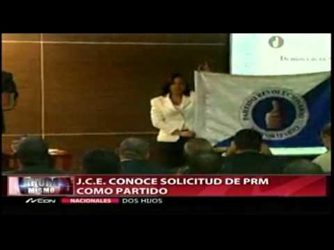 PRM defiende su logo y color ante la Junta