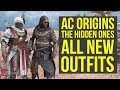 Assassin's Creed Origins DLC ALL NEW OUTFITS From The Hidden Ones (AC Origins Outfits)