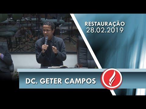 Dc. Geter Campos | Restaurando o altar | 1 Reis 18.30,39 | 28 02 2019