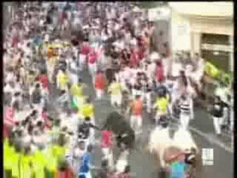 www.SanFerminTV.com S08E01 07-Julio Primer Encierro Fiestas
