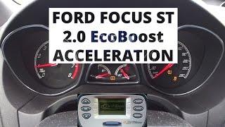 Ford Focus ST 2.0 EcoBoost 250 KM - przyspieszenie 0-100 km/h