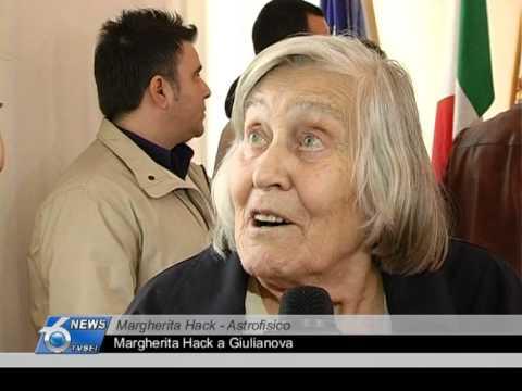 Margherita Hack a Giulianova