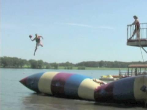 "Trick Shot Basketball - Dude Perfectâ""¢ - Summer Camp Edition (HD)"
