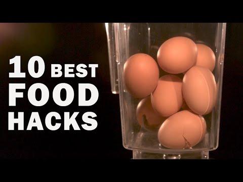 10 BEST FOOD HACKS (recompilation)