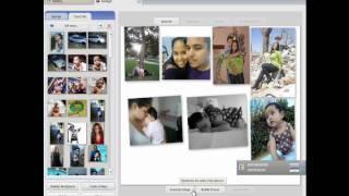 Como Hacer un Collage de fotos para tu fondo en tu canal de Youtube Utilizando el program Picasa!