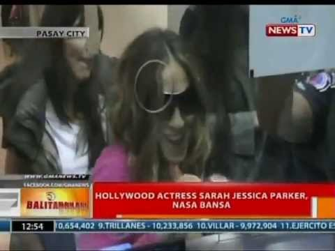BT: Hollywood actress Sarah Jessica Parker, nasa bansa na; Jason Mraz, nagconcert sa bansa