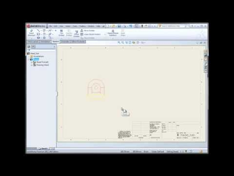 SolidWorks- Drawing Tips