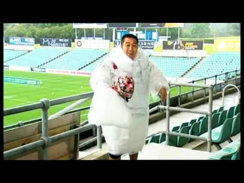 Anh Do takes on Parramatta Eels