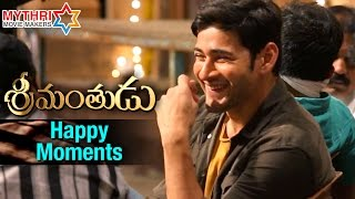 Srimanthudu Happy Moments