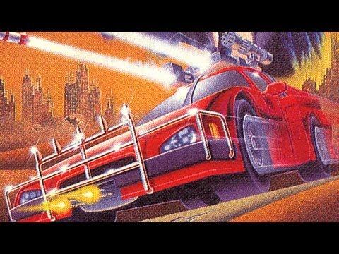 Classic Game Room - ROADBLASTERS for Sega Genesis review