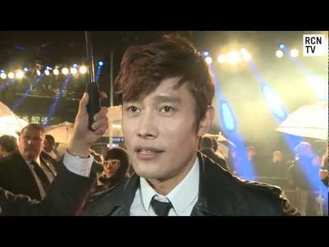 Storm Shadow Byung-hun Lee Interview - G.I. Joe Retaliation UK Premiere