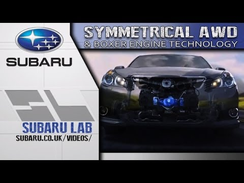 Subaru's Symmetrical All Wheel Drive (AWD) and Boxer Engine