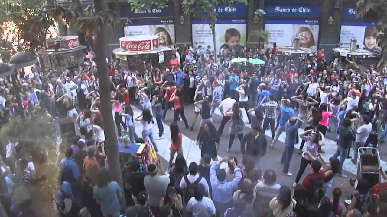 Britney Spears - Flashmob Chile