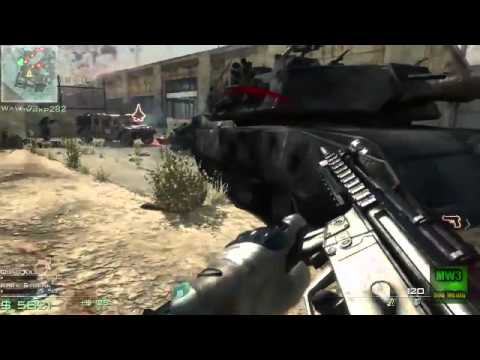 Call of Duty MW3 Survival Mode Explosive Attack Dogs Gameplay