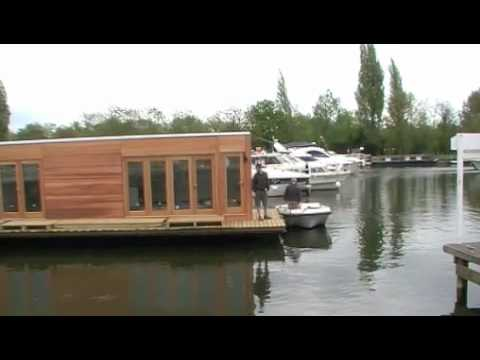 Floating Home Launch at Shepperton 2