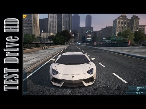 Lamborghini Aventador - Need for Speed: Most Wanted 2012 - Test Drive [HD]