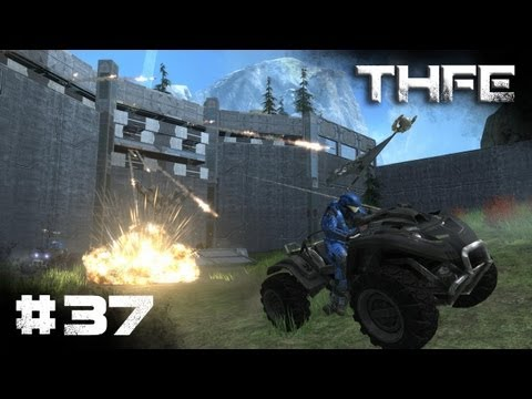 """Stealing your Flags"" [HD] - Halo Reach Forge Maps (THFE) - (Ep.37)"