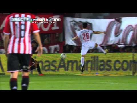 Gol de Fernández. Independiente 1 - Estudiantes 1. Fecha 22. Primera División 2015.