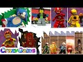 All Speedsters (Flash, Sonic, Kid Flash, Reverse Flash, Quicksliver, etc...) - #LEGO Videogames