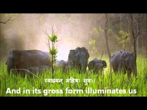 'Bhu Suktam' Vedic Hymn in Devanagari with English Translations.wmv