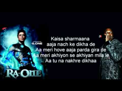 YouTube   Chammak Challo ft  Akon   RA one Song and Lyrics
