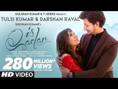 Is Qadar (Official Video) Tulsi Kumar, Darshan Raval | Sachet-Parampara | Sayeed Quadri | Arvindr K